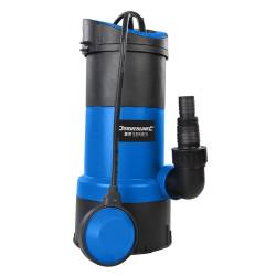 Pompe submersible pour eaux claires et usées Silverline