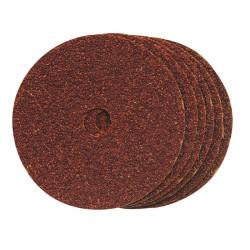 10 disques de ponçage 100 mm grain 60 Silverline