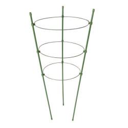 Triple tuteur en anneau pour plante