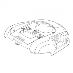 carter robot tondeuse husqvarna pas cher webmotoculture com. Black Bedroom Furniture Sets. Home Design Ideas