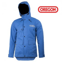 Veste de pluie Oregon bleue